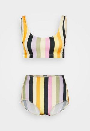 NILLA HIGHWAIST - Bikini bottoms - multi-coloured