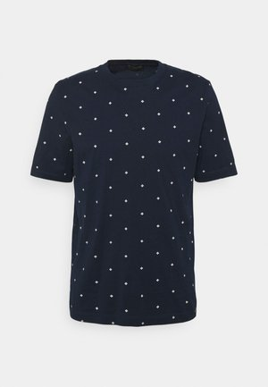 CLASSIC ALLOVER PRINTED TEE - T-shirt med print - dark blue