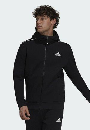 M ZNE - Zip-up sweatshirt - black