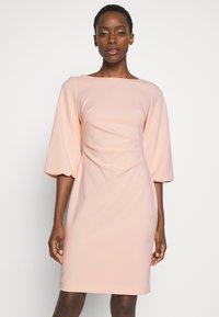 Lauren Ralph Lauren - LUXE DRESS - Žerzejové šaty - pink macaron - 0