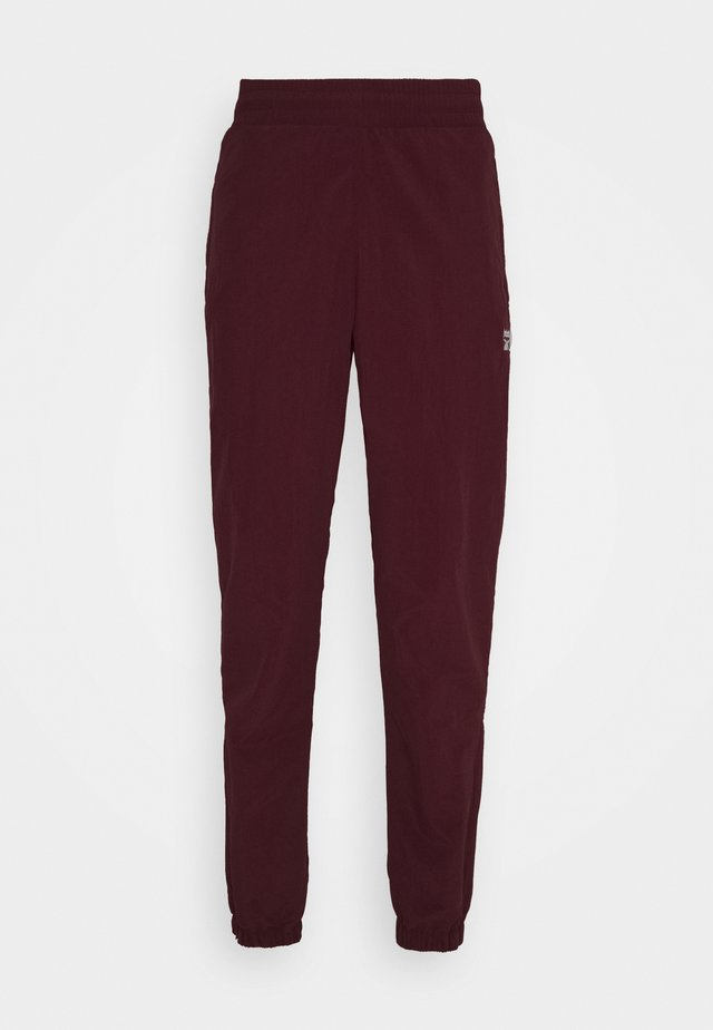 TRACKPANT - Tracksuit bottoms - maroon