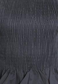 BLANCHE - CIOLA SMOCK BLOUSE - Bluzka - graphite - 2
