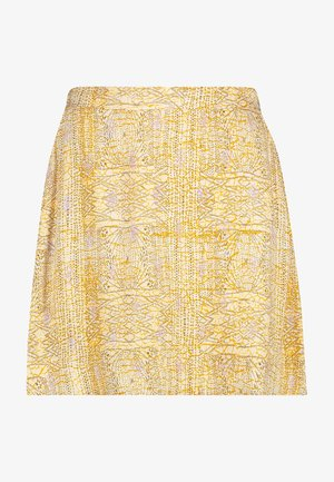 A-line skirt - cream dessin