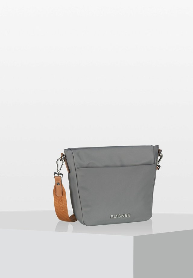 KLOSTERS JUNA - Across body bag - light grey