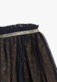 3 Pommes - SKIRT - Veckad kjol - midnight blue - 4