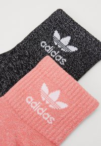 adidas Originals - 2 PACK - Skarpety - black/seflre - 1
