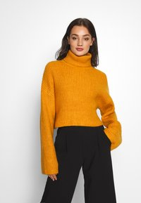 Monki - BERA - Strikkegenser - yellow dark - 0