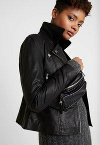 YAS - YASSOPHIE JACKET - Leather jacket - black - 4
