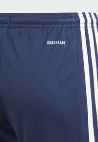 adidas Performance - Squadra 21 Y AEROREADY PRIMEGREEN FOOTBALL REGULAR SHORTS - Sports shorts - blue - 4