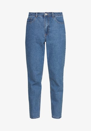 RIOT HIGHWAIST PLAIN MOM JEAN - Jeans Skinny Fit - blue