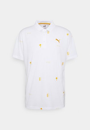 PALM TREE CREW EDITION - Koszulka polo - bright white