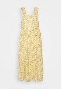 Moves - SAFIM - Maxi dress - transparent yellow - 0