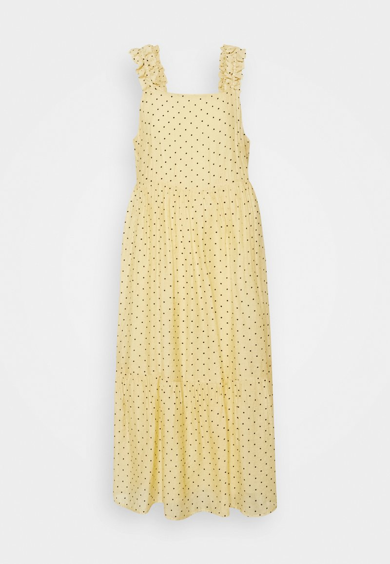 Moves - SAFIM - Maxi dress - transparent yellow