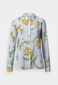 Desigual - IRIS - Button-down blouse - blue - 4