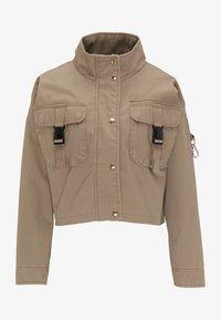 myMo - CROPPED  - Light jacket - schlamm - 4