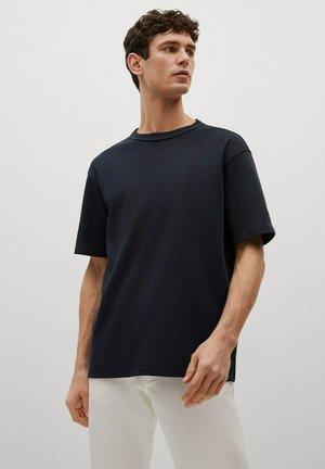 RELAXED FIT - T-shirt basic - bleu marine foncé