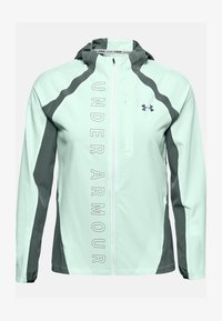 Under Armour - OUTRUN THE STORM  - Sports jacket - seaglass blue - 2