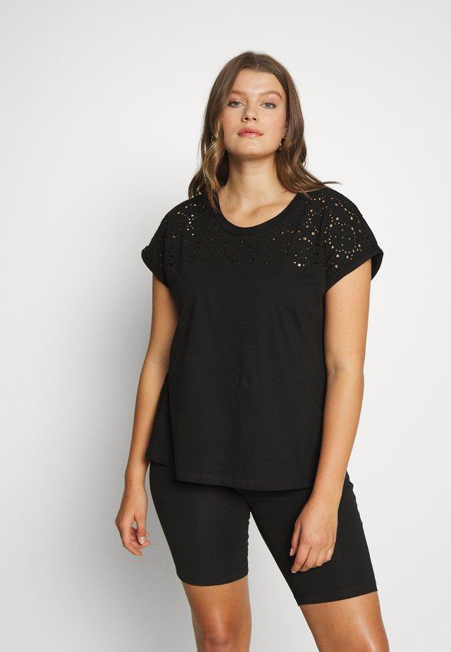 VSOFIA - Print T-shirt - black