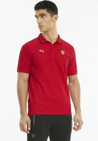 Puma - FERRARI RACE - Polo shirt - rosso corsa - 0