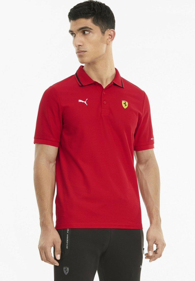 Puma - FERRARI RACE - Polo shirt - rosso corsa