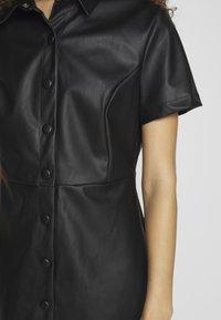 New Look Petite - BELTED DRESS - Shirt dress - black - 5
