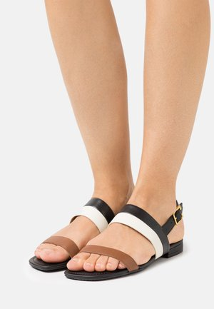 KRISTI - Sandals - deep saddle tan/van