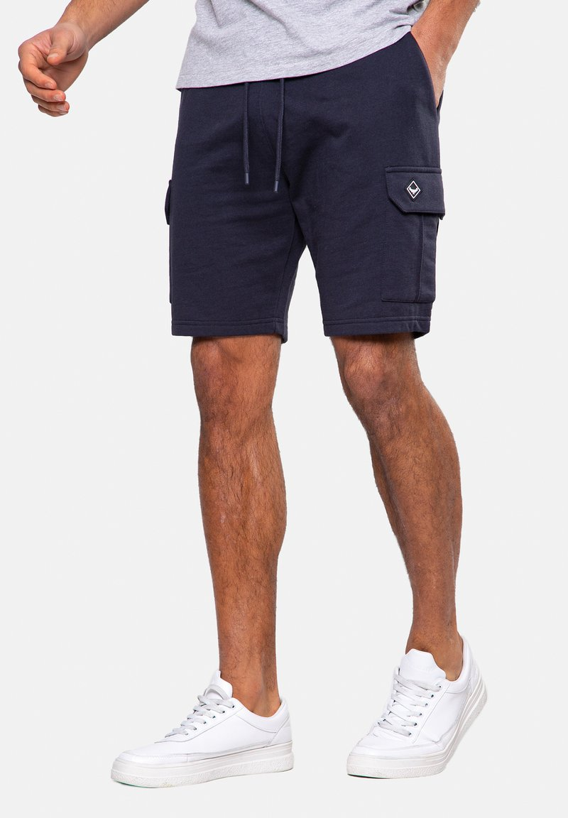 Threadbare - HUNTER - Shorts - blau