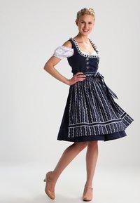 Almsach - LOLA - Dirndl - dark blue - 1