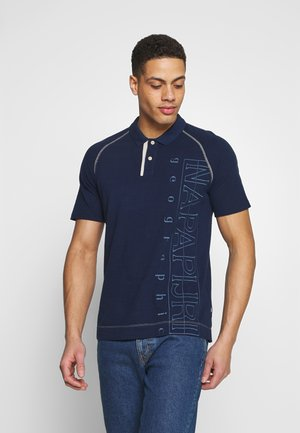 ELTON - Polo shirt - medieval blue