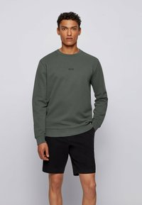 BOSS - WEEVO  - Sweatshirt - dark green - 0