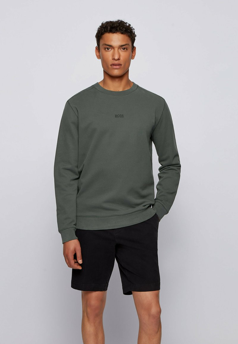 BOSS - WEEVO  - Sweatshirt - dark green