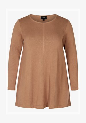 MIT A-PASSFORM - Pullover - camel