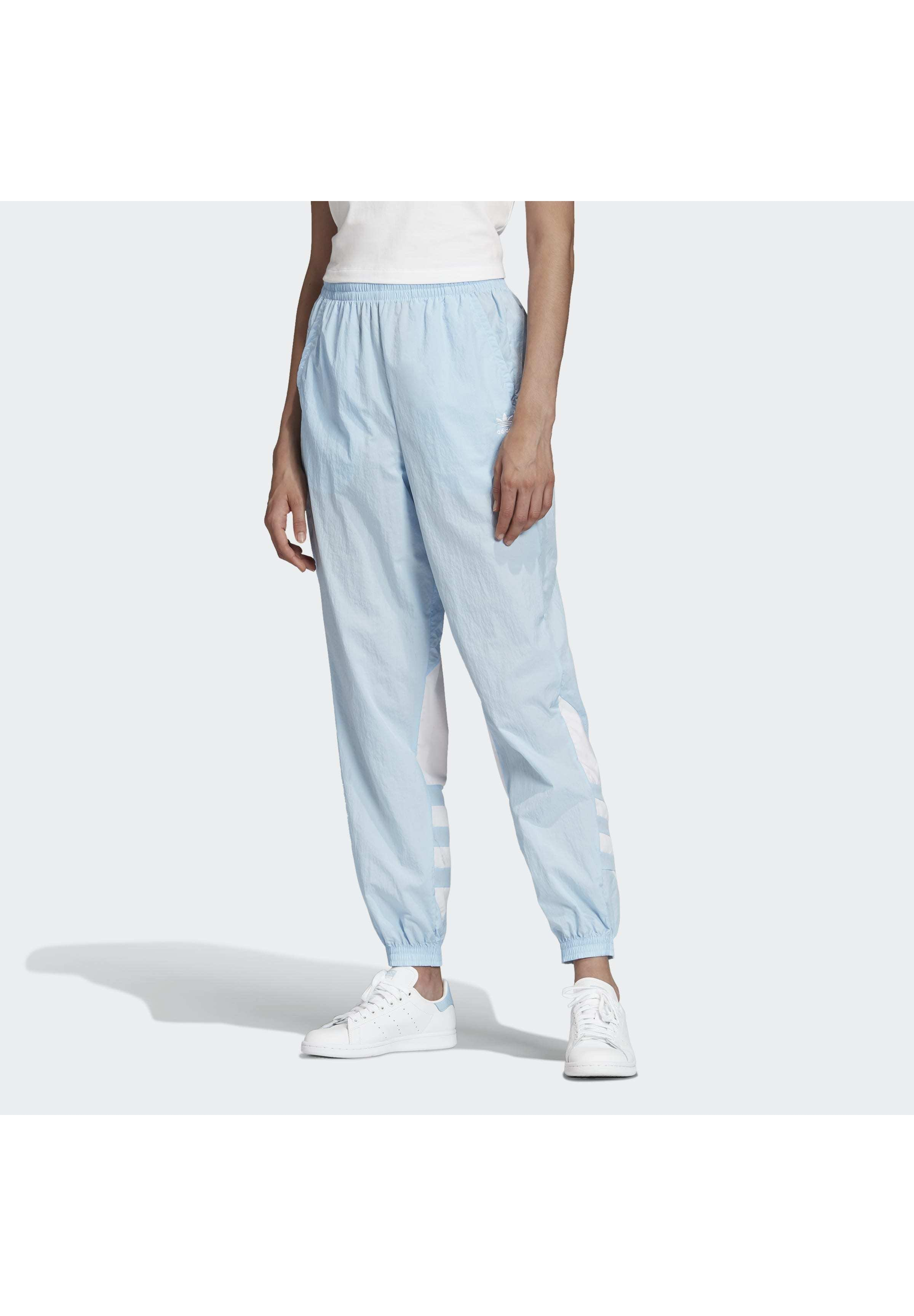 adidas Originals 2020-02-15 BIG LOGO TRACKSUIT BOTTOMS - Pantalon de survêtement - blue - Pantalons & Leggings Femme I7Gkr