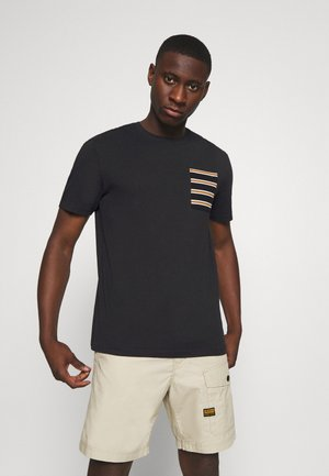 ONSMELTIN LIFE POCKET TEE - Camiseta estampada - black