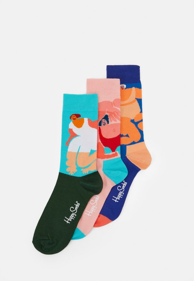 AMBER VITTORIA GIFT BOX 3 PACK - Socks - multi-coloured