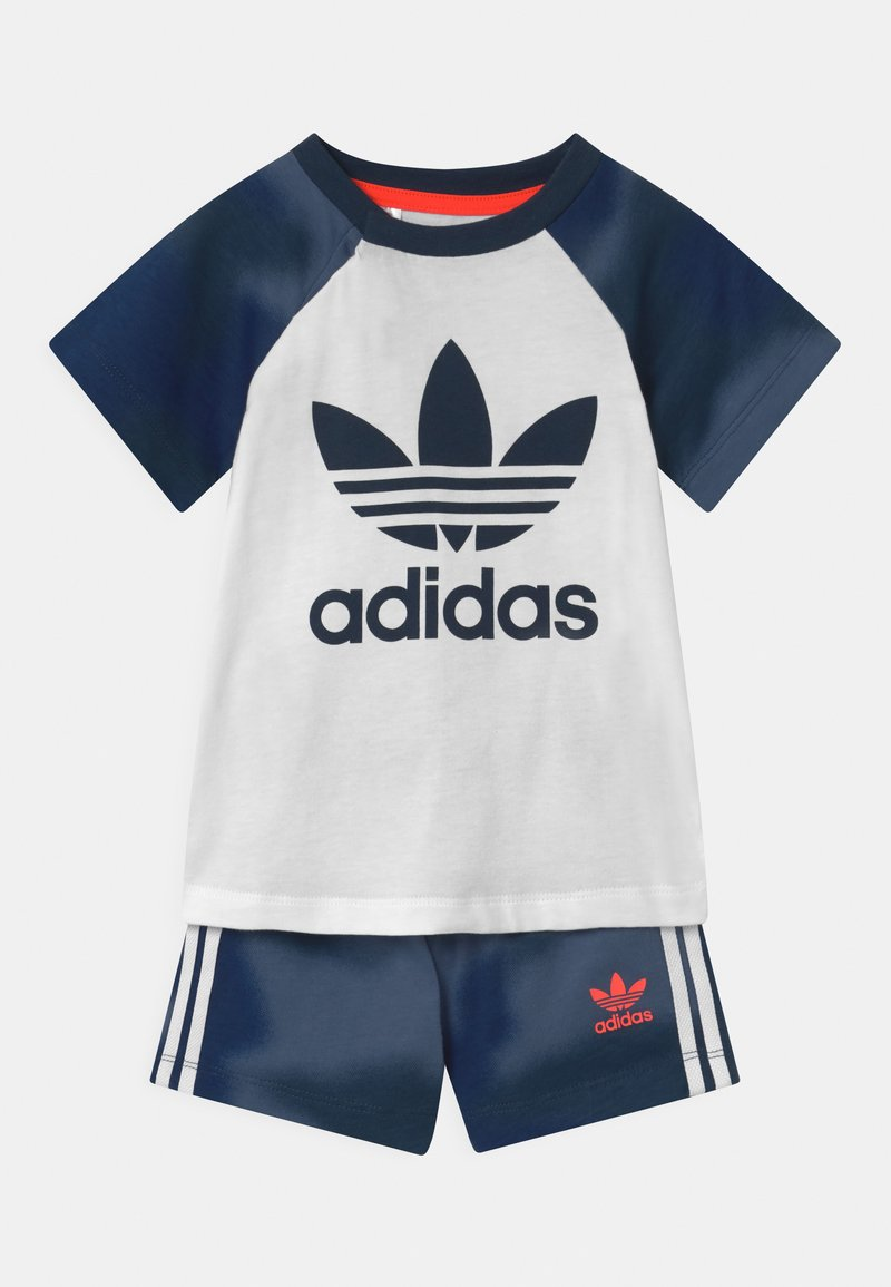 adidas Originals - SET UNISEX - Short - white/creblu