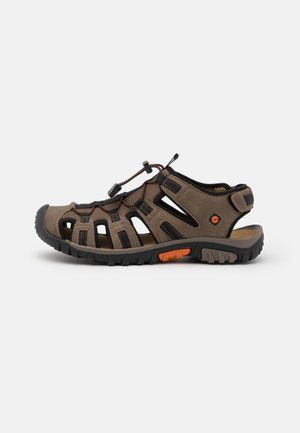 COVE SPORT - Walking sandals - taupe/burnt orange