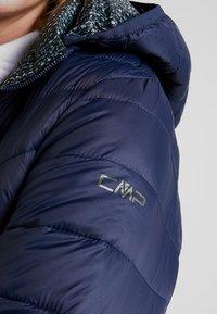 CMP - WOMAN JACKET ZIP HOOD - Vinterjakke - black blue - 7