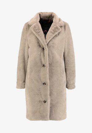CYBER - Zimní kabát - dark beige