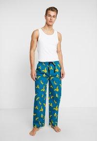 Lousy Livin Underwear - PANT BANANAS - Pyjama bottoms - ocean - 1