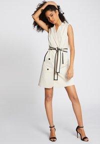 Morgan - Robe chemise - beige - 1