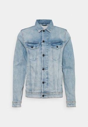 AMSTERDAM POCKET - Denim jacket - blue