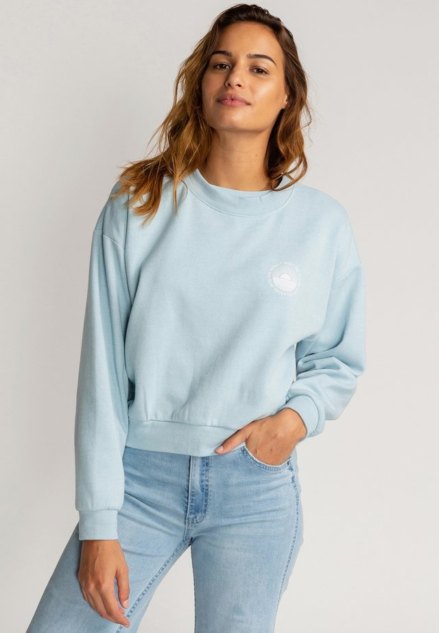 BE MINDFUL - Sweater - vista blue