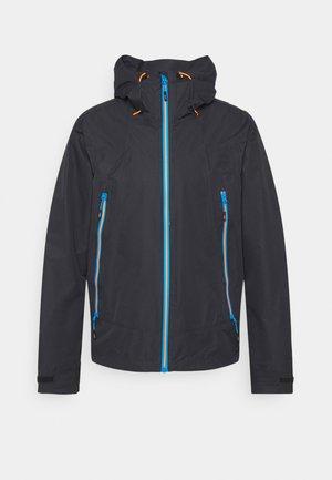 MAN FIX HOOD JACKET - Hardshell jacket - antracite