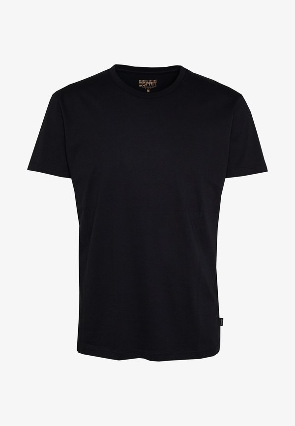 Esprit T-shirt basic - black/czarny Odzież Męska JGPC