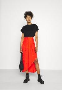 River Island - A-line skirt - orange - 1