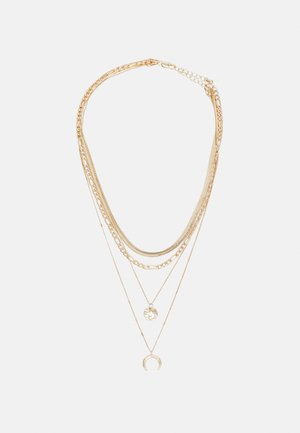 PCMUGGE COMBI NECKLACE - Necklace - gold-coloured