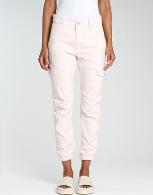 Cargo trousers - soft rose bijou