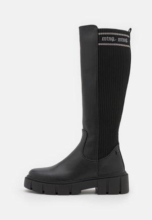 MARS - Platform boots - black