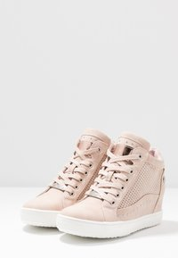 XTI - Sneakers hoog - nude - 4
